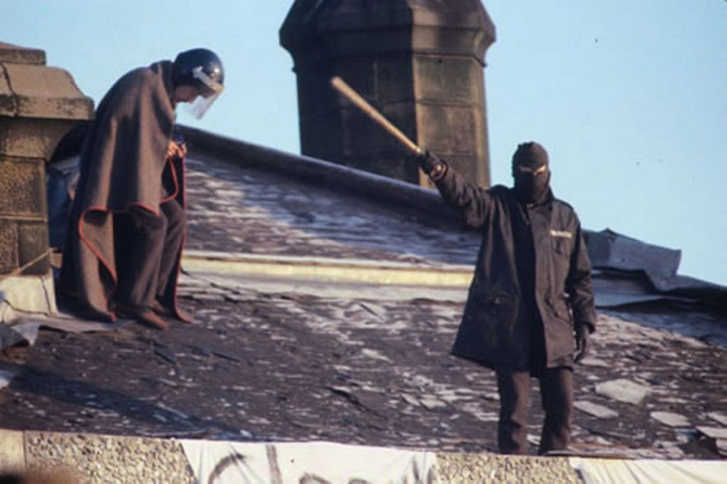 Barlinnie prison riot 1987