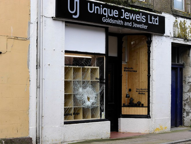 UNIQUE JEWELS IN FRASERBURGH.(ROSS/BROWN)